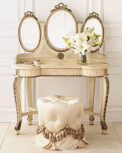 Beautiful Ottomans And Dressing Tables On Pinterest