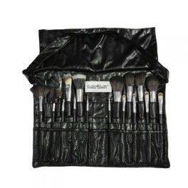 Bolsa Cinto com 18 Pincéis de Maquiagem Macrilan KP5-29