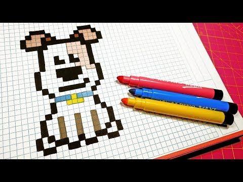 Hello Pixel Art Youtube Pixel Art Minecraft Pixel Art