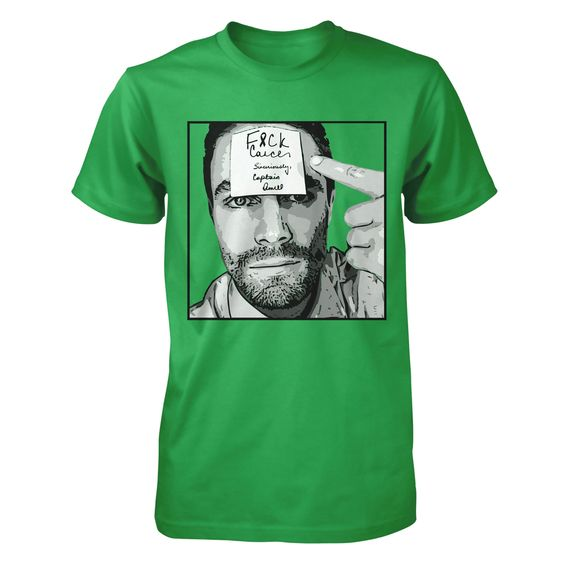 I'm going Green for Arrow Stephen Amell for F&CK Cancer RELAUNCH | Represent