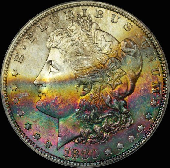 1880-S Morgan Dollar MS64 PCGS