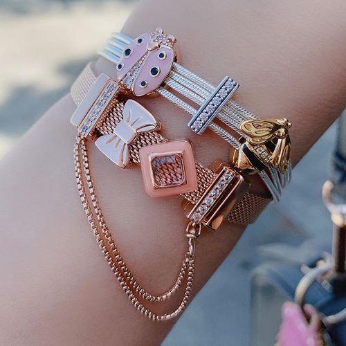 Multi Snake Chain Bracelet | Pandora Reflexions | Pandora bracelet ...