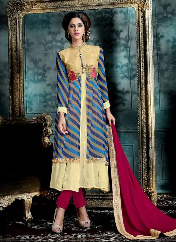 Suave Georgette Designer Salwar Suit