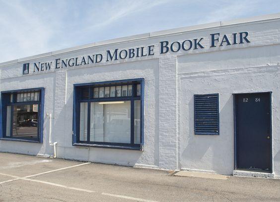 New England Mobile Book Fair - 82-84 Needham Street, Newton Highlands, MA 02461