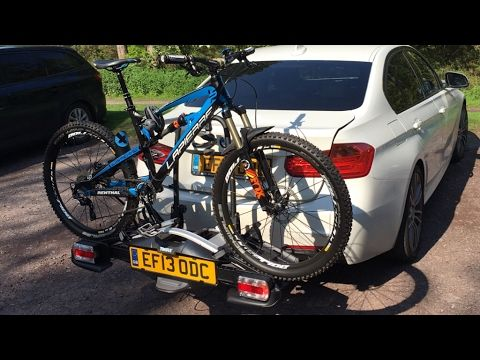 Bike Carrier Towbar Thule Velocompact 924 925 Review And Unboxing