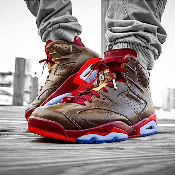 Retro 6 Cigar  Photo By @pr_sneaks23  by addict_for_sneakers #SoleInsider