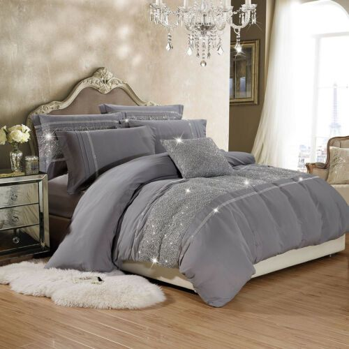 Luxury Duvet Cover With Pillowcases Quilt Cover Bedding Sets