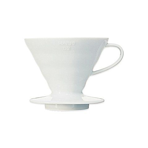 Price: $51.97 - http://bit.ly/2aS9LzL - Hario V60 Ceramic Coffee Dripper in White - This innovative Hario V60 Ceramic Coffee Dripper features the ability to brew between one and three cups, the design also allows for the user to drip directly into a server The paper filters help produce a clean, flavorful, and sediment-free cup of Joe Imported