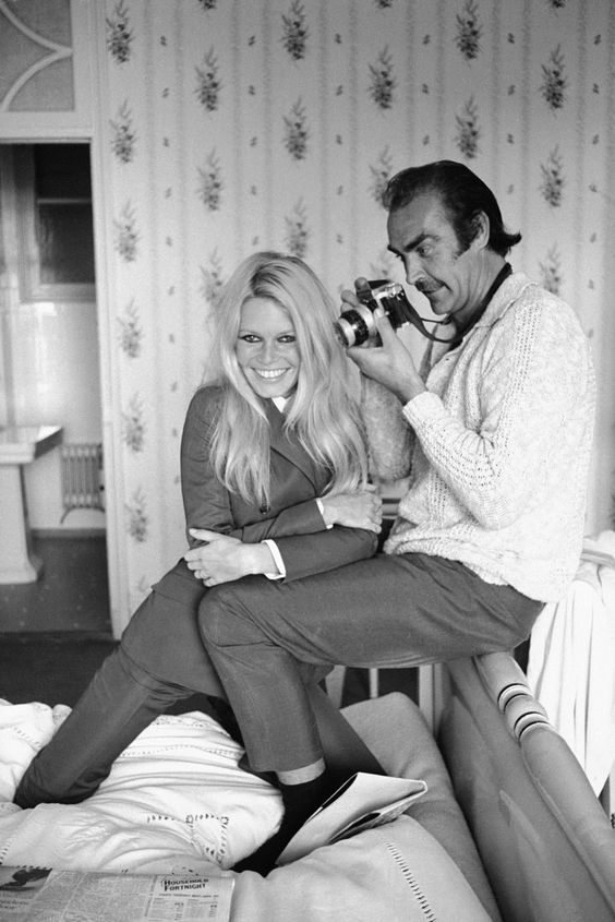 Sean Connery and Brigitte Bardot by Terry O'Neill 1 200×1 799 пикс