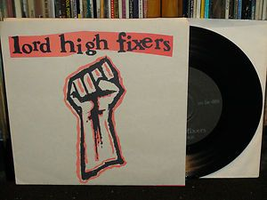 """Lord High Fixers """"Scat Man"""" 1995 RARE Tan Sleeve Variation, with Tim Kerr from Jack O'Fire & Big Boys"""