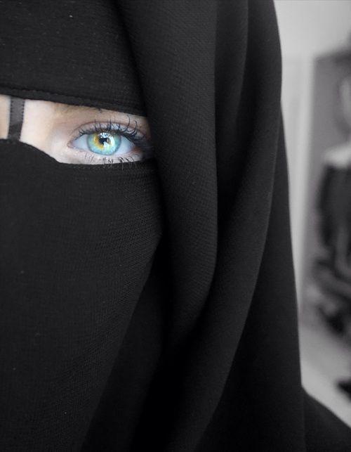 Black Niqab And Eyes Image Niqab Fashion Girl Hijab Fashion Black niqab eyes wallpaper