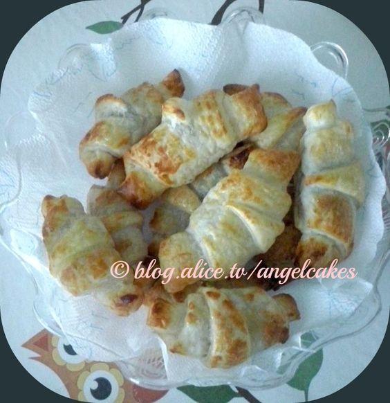 #cornetti di #pastasfoglia!!! ALICE TV #alicetv #nutella #marmellata #croissant #dolci #colazione #food #ricette #CucinareMeglio #myTaste
