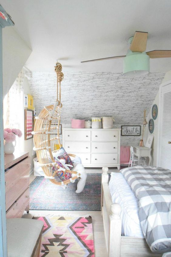 Modern and Stylish Ceiling Fans- Bedroom Ceiling Fan Update #teenagegirlbedroomdesignsroomdecor