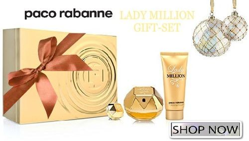Make her feel As Charismatic as 1 Million with this amazing fragrance set. About this item> goo.gl/tKdPC1  Beautyshop> goo.gl/RgRZGY Skincare> goo.gl/z78G8p  #cosmetics #beauty #makeup #giftsets #follow4follow #makeupbrushes #like4like #haircare #skincare #fragrances #freeshipping #sales #beautiful #shopping #online #bargains #deals #products #pacorabanne #holidays #celebs #perfumes #million #discounts #amazing #beautyproducts #musthaves #trending #bestoftheday