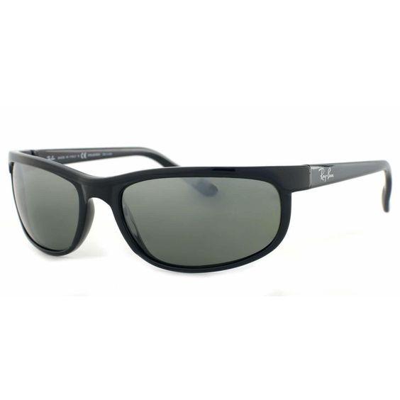 ray ban predator 2 polarized sunglasses rb 601 w1  ray ban mens rb2027 predator 2 601/w1 rectangle sunglasses, men's