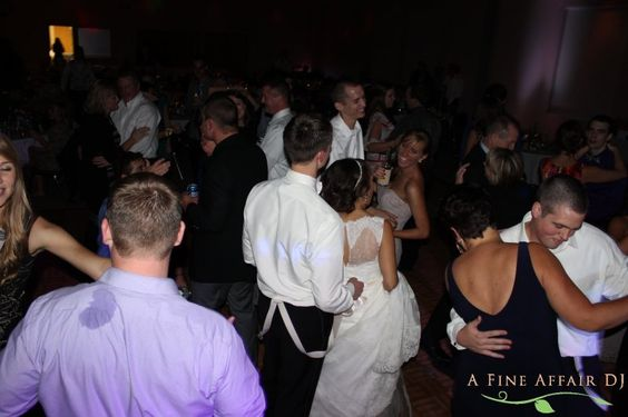 Wedding dance at St. Pius Parish Center, Cedar Rapids, IA