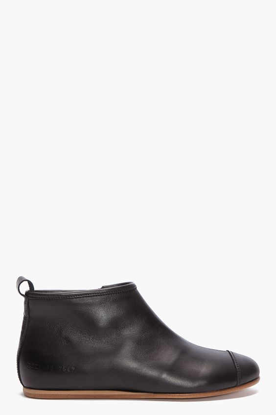 common projects zipper boot