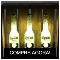 Luminária Garrafa Led Coca-cola Coke Retrô Kit - Deecor - R$ 249,00 em Mercado Livre