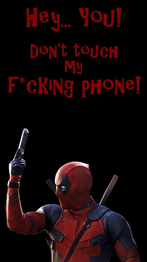 Image Result For Funny Deadpool Iphone Lock Screen Wallpaper Lock Screen Wallpaper Deadpool Wallpaper Deadpool Funny