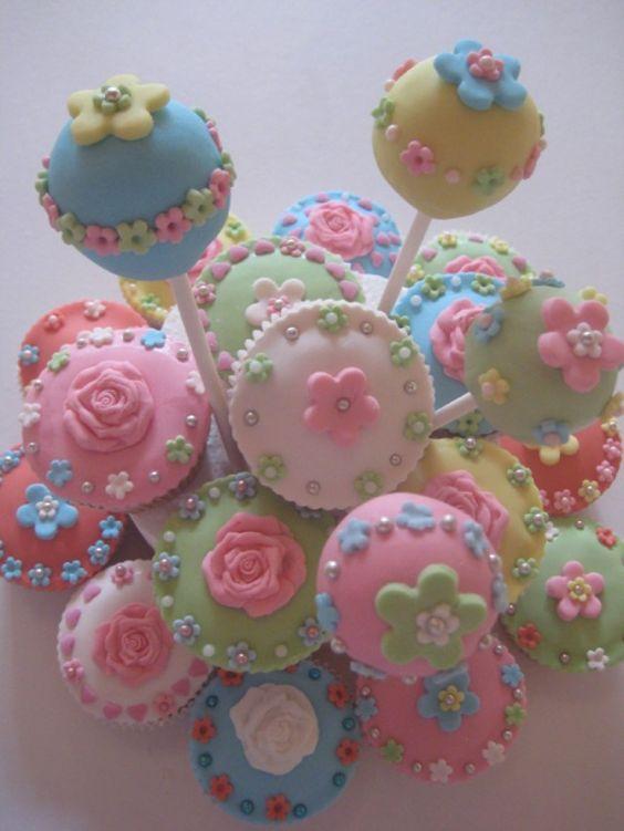 flower popcakes