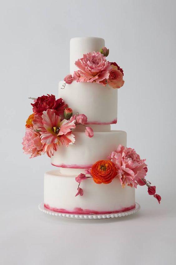 42 Most Beautiful Pink Stiletto Nail Art Design Ideas For: 42 Most Pretty Wedding Cake Ideas. Http://www.modwedding
