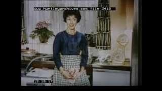 Huntley Film Archives kitchen - YouTube Good Design Principles for efficiency the kitchen never goes out of date!  Enjoy this vintage film.