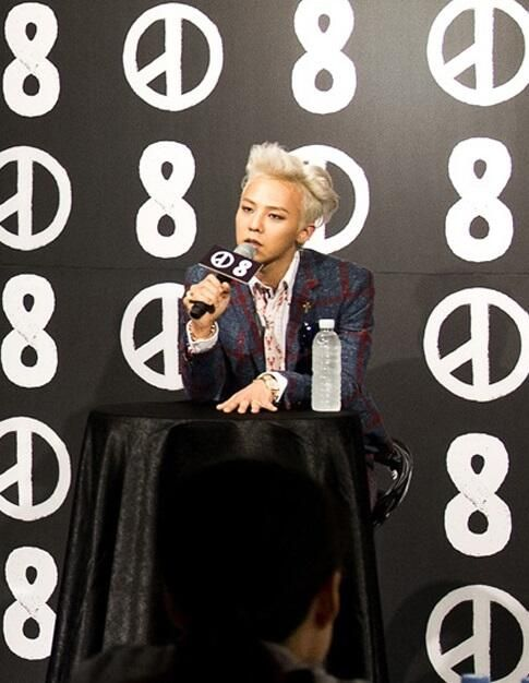 GD at Space 8 press con