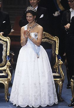 The Royal Watcher:  Queen Sylvia at the Nobel Prize 1984