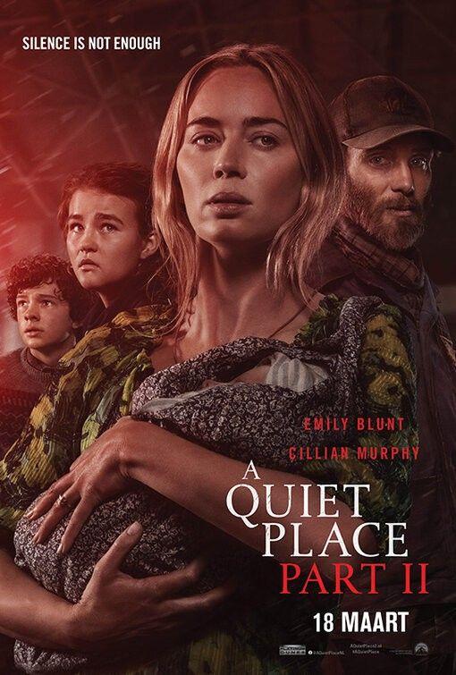 New International Poster For A Quiet Place Part Ii 2020 Dir