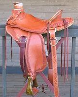 McCall Saddle Company 15.5 Inch Lady Wade Working Saddle