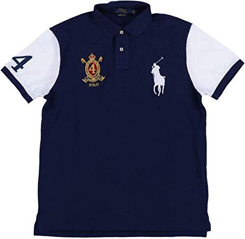 Chic Polo Ralph Lauren Mens Big Pony Custom Slim Fit Crest Polo Shirt Men Shirts 62 78 Favortrendyfashion Fr Men Shirt Style Polo Ralph Lauren Mens Outfits