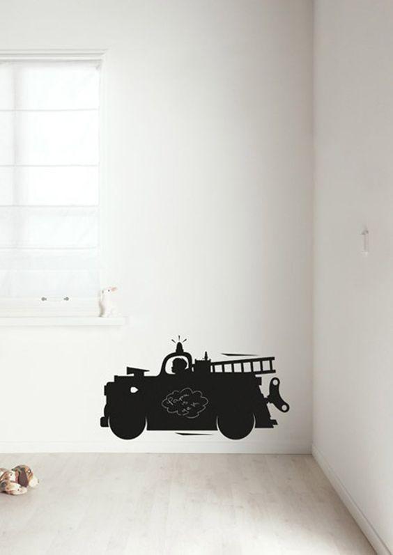KEK | schoolbordsticker – brandweerwagen