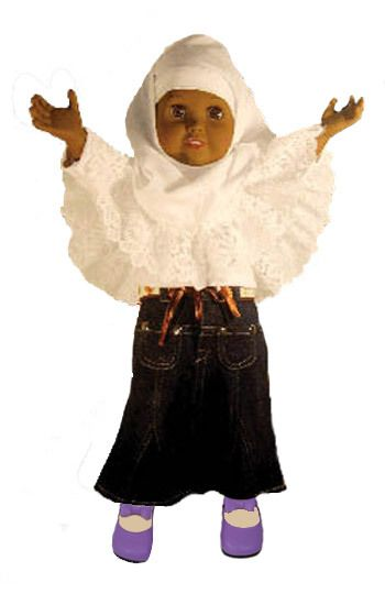 """18 Going On 18 Here Are The Interesting Bits: Amirah 18 Inch """"Going To Jummah"""" Muslim Doll"""