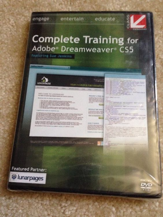 Class on Demand Video Download: Complete Training for Dreamweaver CS5 #ad
