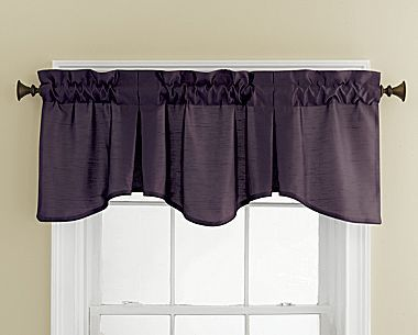 Chris Madden 174 Mystique Pleated Valance Jcpenney Color