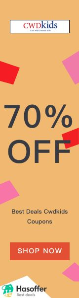 hasoffer Cwdkids 70% OFF Coupons Deals