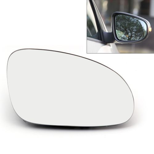Right Rearview Mirror Glass Heated W Holder For Volkswagen Golf Gti Mk5 06 09 Jetta Mk5 06 10 Eos 07 08 R32 Rabbit 06 09 Passat B6 05 09 Volkswagen Golf Gti Volkswagen Golf Rear View Mirror