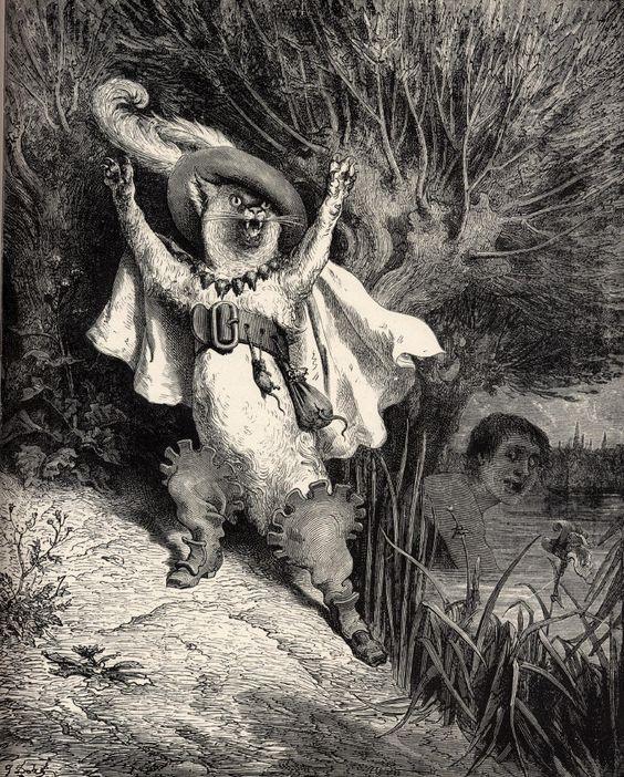 • Gustave Doré // Le chat botté