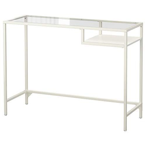 Ikea 403 034 44 Vittsjo Laptop Table White Glass Ikea Glass Desk Laptop Table Ikea