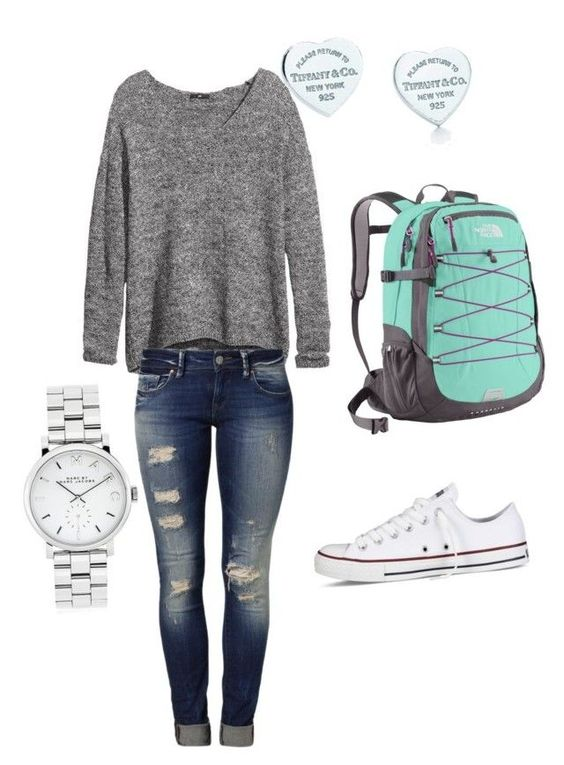 cool Back to school outfit idea by http://www.dezdemonfashiontrends.xyz/fashion-looks/back-to-school-outfit-idea/