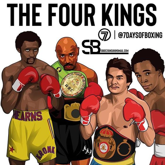My Art Of The Four Kings Sugar Ray Leonard Marvellous Marvin Hagler Tommy Hearns And Roberto Duran And The Last Marvelous Marvin Hagler Roberto Duran Duran