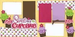 Sweet As A Cupcake Page Kit