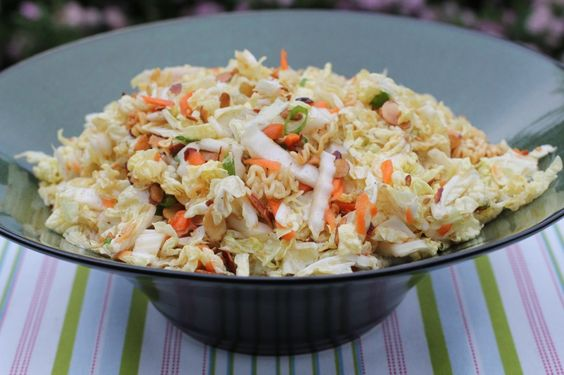 Chinese Cabbage Salad | Make Ahead Meals For Busy Moms