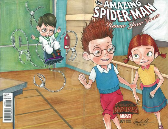 Meet the Robinsons and Amazing Spider-Man mash-up by GuanlinChen