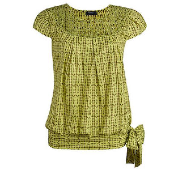 Patron de blusas modernas - Imagui | Blusas | Pinterest