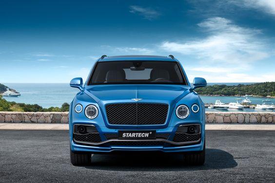 Startech voorziet Bentley Bentayga van Tupperware