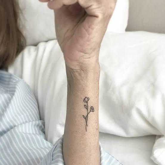 34 Cute Women Poppy Tattoo Design Ideas Pastel Tattoo Flower Wrist Tattoos Cool Tattoos