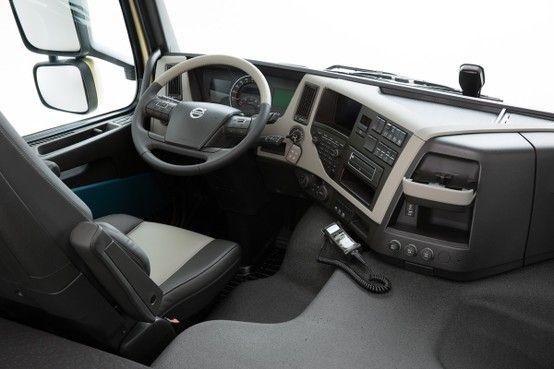 New Volvo Fm Truck Interior Volvo Volvo Trucks