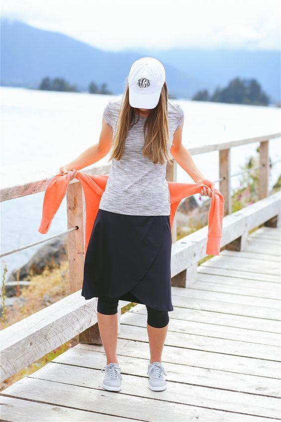 Modest workout clothes