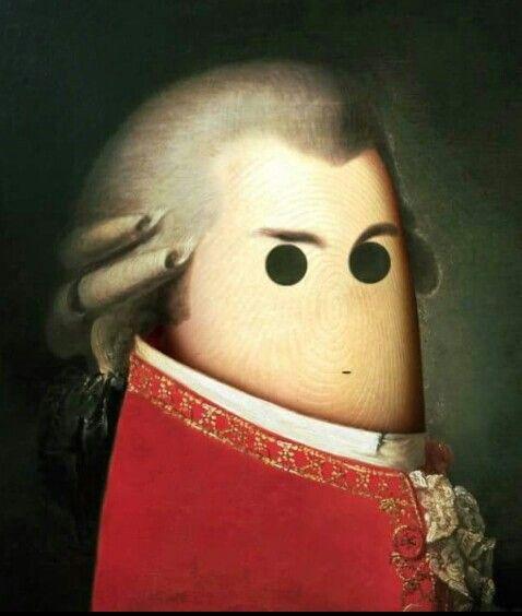 Mozart finger